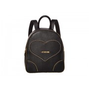 LOVE Moschino Embroidery Of Love Backpack Black