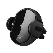 Suport Incarcator Telefon Auto Wireless DCAE Techstar® W5 Fast Charging Senzor Infrarosu Qi pentru Android si IoS