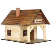 WALACHIA fa építőjáték modell - kovácsműhely