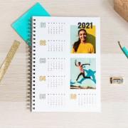 smartphoto Anteckningsbok med kalender A4