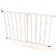 Noma Extending Safety Gate 63.5-106 cm Wood White 94153