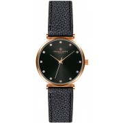 Frederic Graff Batura Star Lychee Black Leather Strap FCB-B012R
