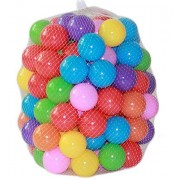 Pack of 100 Balls Eco-Friendly Colorful Soft Plastic Water Pool Ocean Wave Ball Baby Funny Toys stress air ball outdoor fun sports