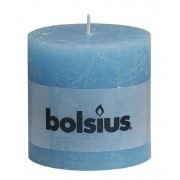 Bolsius Stompkaars 100/100 rustiek Aqua