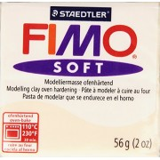 Fimo Soft Polymer Clay 2 Ounces-8020-43 Flesh Light