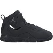 Nike JORDAN TRUE FLIGHT BP Boys fashion-sneakers 343796-013_11. 5C - Black/Dark Grey