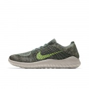 Chaussure de running Nike Free RN Flyknit 2018 iD pour Homme - Vert