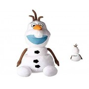 "Disney Plush Pillow 22"" Jumbo Frozen Olaf Stuffed Pillow Buddy"