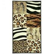 Covor Decorino, Animal Print, polipropilena, C-020175, 80x150 cm, Multicolor