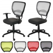 Profi-Bürostuhl Seattle, Chefsessel Drehstuhl, 150kg belastbar, Stoff/Textil ~ Variantenangebot