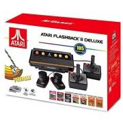 Atari Flashback 8 Deluxe con 105 juegos 2 controladores con cable y 2 almohadillas para orejas con cable