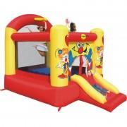 Saltea gonflabila Slide and Hoop Happy Hop