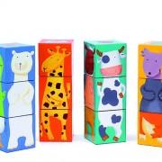 Cuburi animale amuzante Djeco