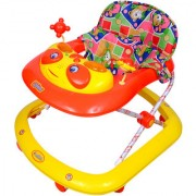Ehomekart Red Crystal Adjustable Musical Walker for Kids