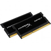 Memorie Kingston HyperX Impact Black 16GB (2x8GB), DDR3, 1600MHz, CL9, 1.35V