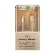 Cablu fiber de incarcare si Sync 8 Pin Lightning 1M