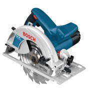 Fierăstrău circular Bosch Profesional GKS 190, 1400 W, 5500 rpm, Diametru pânză 190 mm, Albastru, 0601623000