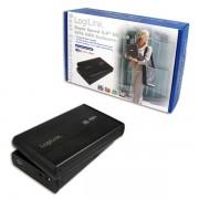 "Logilink 3,5"" SATA USB 3.0 Aluminium Black UA0107"