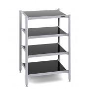 Rack AV Creaktiv Aluminium 1 polita