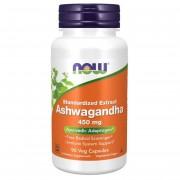 Now Foods Ashwagandha 450 mg 90 kapsułek - 90 kapsułek