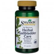 Swanson Herbal Gallbladder Care 60 kapslí