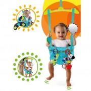 Bright Starts Skoczek dziecięcy Bounce'n Spring, turkusowy, K10410