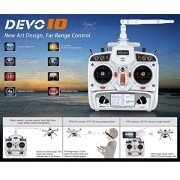 Walkera TALI H500 Devo 10 Transmitter Controller Remote Control - FAST FREE SHIPPING FROM Orlando, Florida USA! by HobbyFlip
