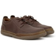 Clarks Trapell Apron Corporate Casuals For Men(Brown)