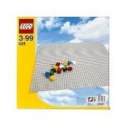 LEGO Base Extra Large Building Plate 15 x 15 Platform - Gray | 628
