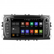 """Navigatie DVD Auto 2DIN Ford Focus, Mondeo, S-Max, C-Max, Galaxy, Kuga, Android 7.1, Bluetooth, Wifi, GPS, Touchscreen 7"""", AUX, USB"""