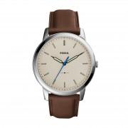 Часовник FOSSIL - The Minimalist 3H FS5306 Brown/Silver