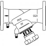 Oventrop Hydrocontrol Inregelafsluiter F DN 80 PN 16 Kvs = 12220 m3/h flensaansluiting 1062652