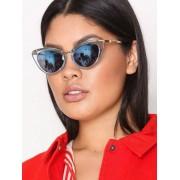 River Island Crystal Sunglasses Solglasögon Light Beige