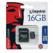 Kingston carte mémoire microsd sdhc 16 go ( classe 4 ) d'origine pour Kazam Trooper 440l