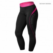 Better Bodies Fitness Curve Tights Black/Pink S
