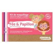 NAMAKI Kit maquillage bio 3 couleurs - Fée et Papillon