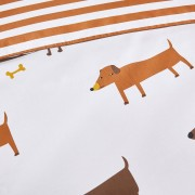 LA REDOUTE INTERIEURS Duvetbezug aus Bio-Baumwolle Woopets