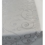 Zöld mintás hosszú asztalközép terítő/Cikksz:023076