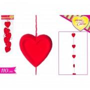 Storie di cuore decorazione catena con cuori 110 cm 551443 617