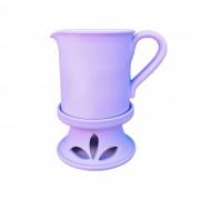 Masszázsolaj melegítő - Halvány lila