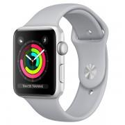 Apple Watch Series 3 42mm Aluminum Case with Sport Band MQL02 Smoky (Спортивный ремешок цвета дымчатый)
