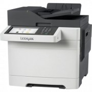 MFP, Lexmark CX510de, Color Laser, Fax, ADF, Duplex, LAN (28E0512)