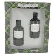 Geoffrey Beene Grey Flannel EDT/Cologne 4 oz / 118.29 mL + After Shave 4 oz / 118.29 mL Gift Set Men's Fragrance 515838