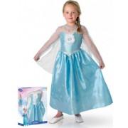 Elsa Disfraz Elsa Frozen de lujo niña caja 5-6 años (110/116)