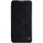 NILLKIN Qin Series Leather Case with Card Slot for Samsung Galaxy M20 - Black