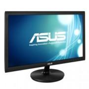 """Монитор 21.5"""" (54.61 cm) Asus VS228DE, FULL HD LED, 5ms, 50 000 000:1, 200cd/m2, черен"""