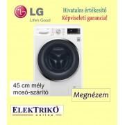 LG F2J7HG2W mosó-szárítógép , keskeny kivitel , 7/4 kg mosási és szárítási kapacitás