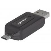 Manhattan imPORT Reader-Mobile OTG Adapter,