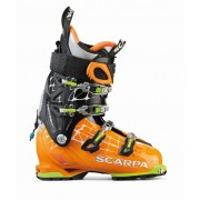 Scarpa Freedom Rs - Orange/White - Chaussures de ski 27.0