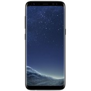 Samsung Galaxy S8 - 64GB - Zwart - Met Wowfixit Liquid Screen Protector + transparant siliconen hoesje + Energizer Qi Dual Charging Plate